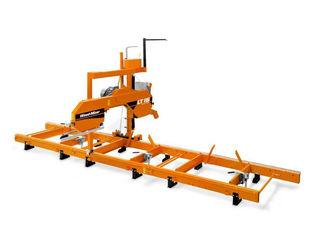 Обзор: ленточной пилорамы Wood-Mizer LT15